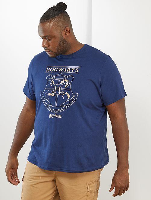 Camiseta 'Harry Potter'                             azul marino