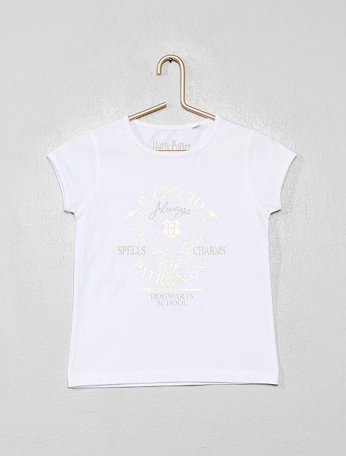 Camiseta 'Harry Potter'                             BLANCO