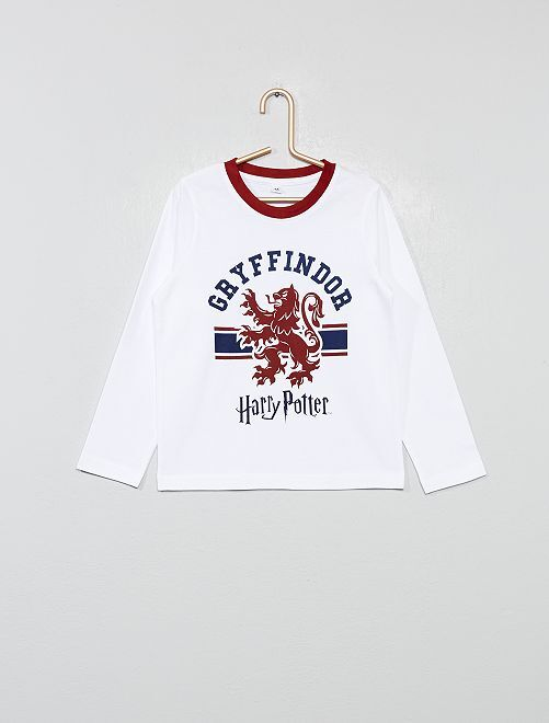 Camiseta 'Harry Potter'                             blanco