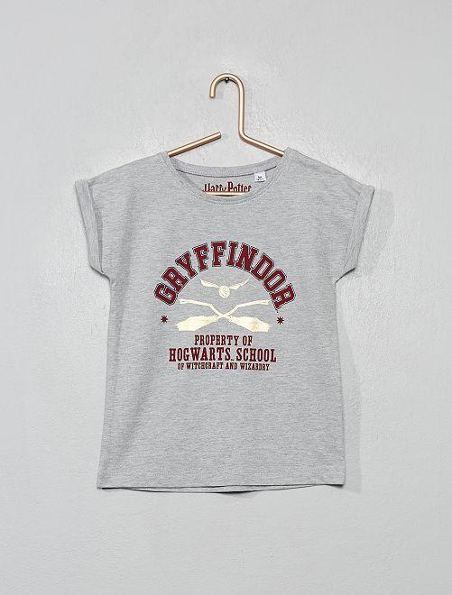 Camiseta 'Harry Potter'                             gris chiné