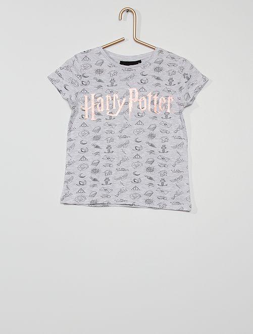 Camiseta 'Harry Potter'                             GRIS