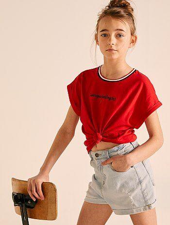 2533b3fe3 Rebajas ropa niña de 12 a 18 años | Kiabi