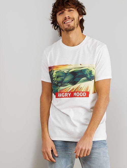 Camiseta 'Hulk'                                         BLANCO