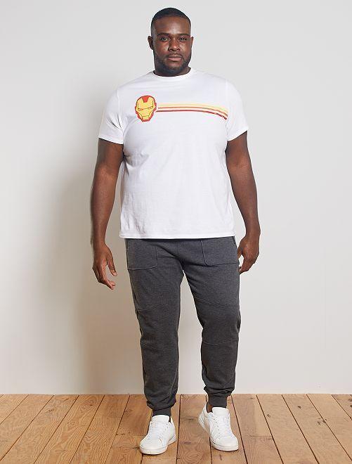 Camiseta 'Iron Man'                                         BLANCO