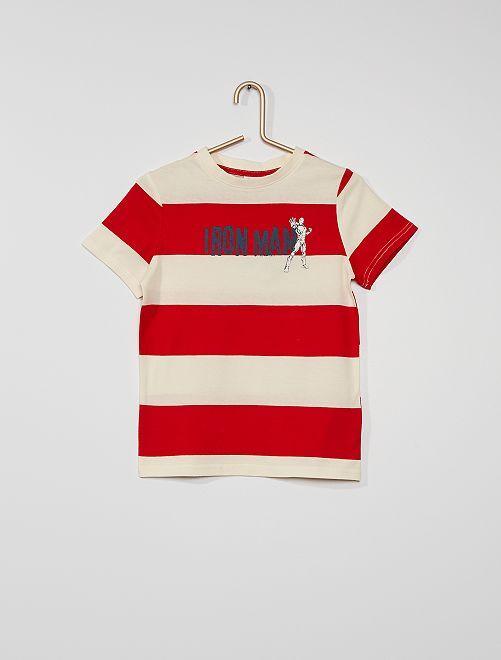 Camiseta 'Ironman'                                                     ROJO