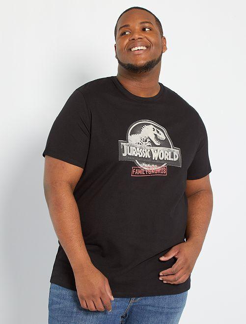Camiseta 'Jurassic World'                                         NEGRO