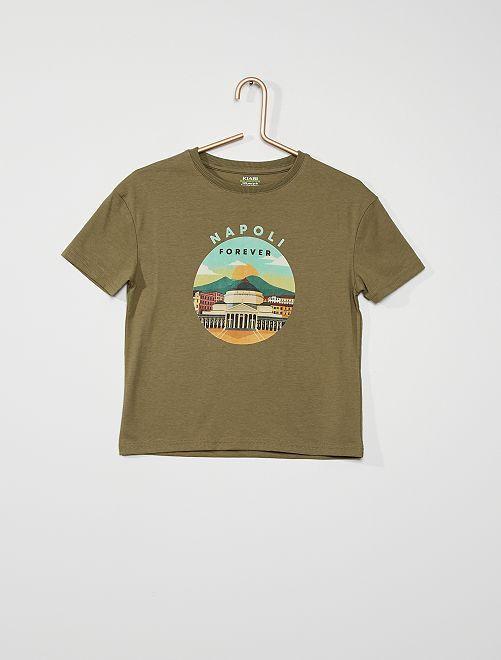 Camiseta                                         KAKI