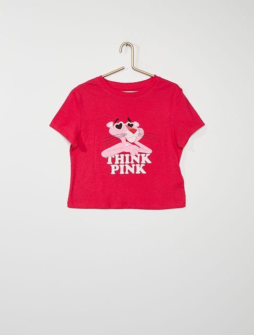 Camiseta 'La Pantera Rosa'                             ROSA