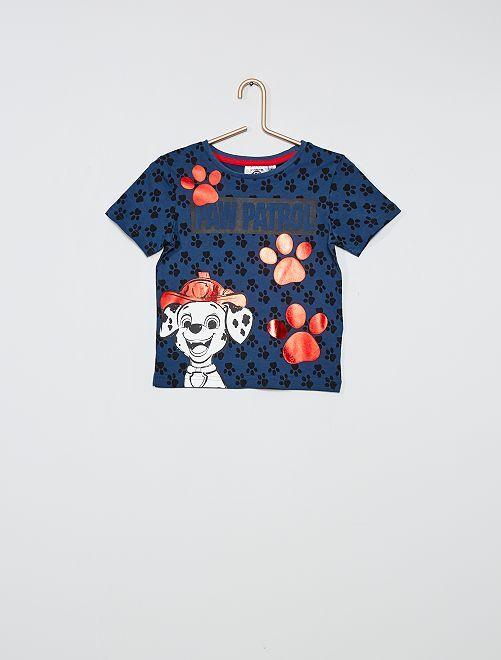 Camiseta 'La patrulla canina'                                         azul marino