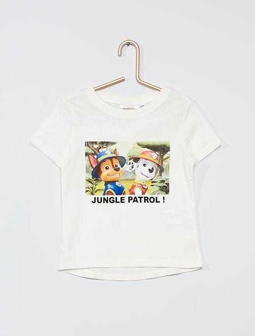 Camiseta 'La Patrulla Canina'                             blanco nieve