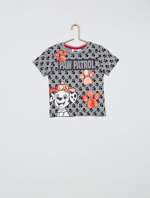 Camiseta 'La patrulla canina'                                         gris
