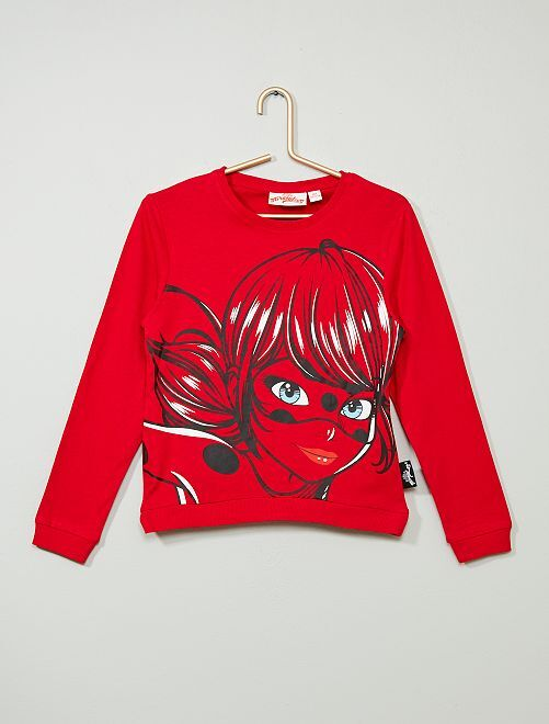 Camiseta 'Lady Bug' de 'Prodigiosa'                             ROJO