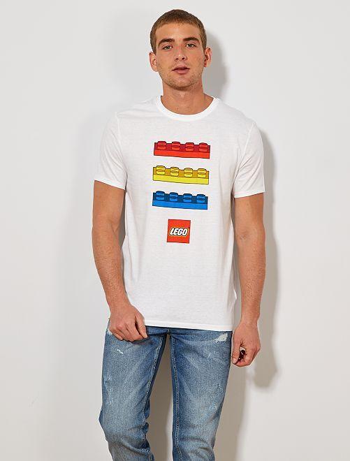 Camiseta 'Lego'                             blanco