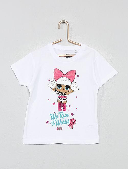 Camiseta 'LOL Surprise'                                                     blanco
