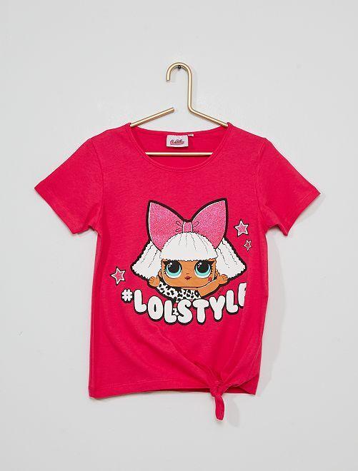 Camiseta 'L.O.L. Surprise'                                         fucsia