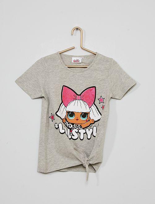 Camiseta 'L.O.L. Surprise'                                         gris