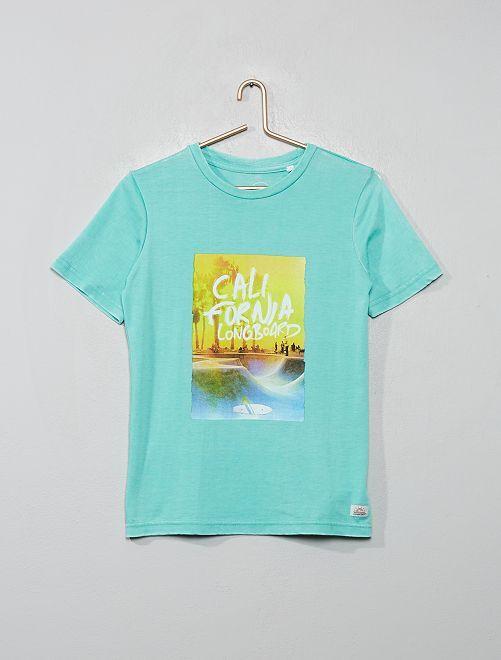 Camiseta 'Longboard'                             VERDE