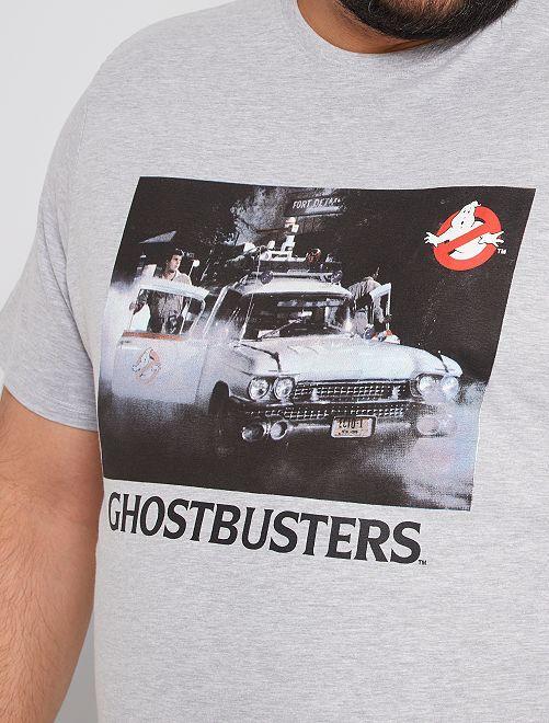 Camiseta 'Los cazafantasmas'                             GRIS