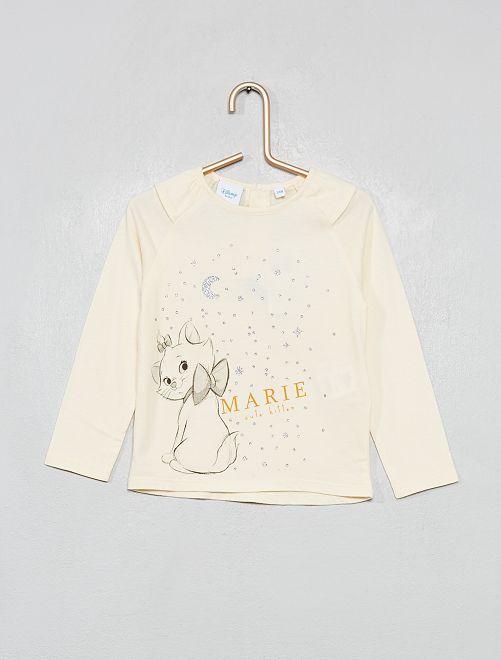 Camiseta 'Marie' de 'Los Aristogatos'                             BLANCO
