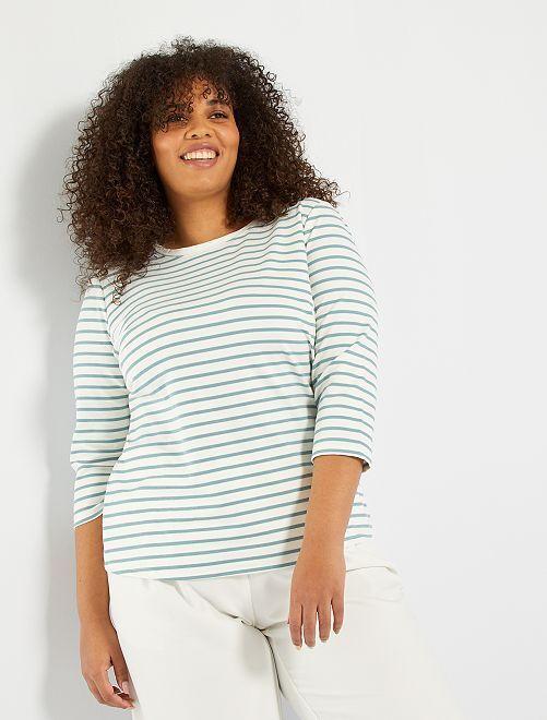 Camiseta marinera                                                                 AZUL