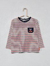 Camiseta marinera tricolor