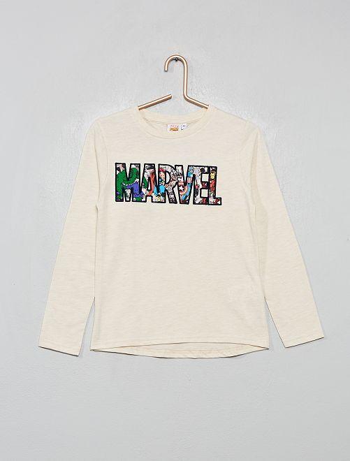 Camiseta 'Marvel'                                         BEIGE