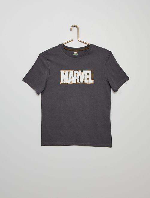 Camiseta 'Marvel' eco-concepción                                         GRIS