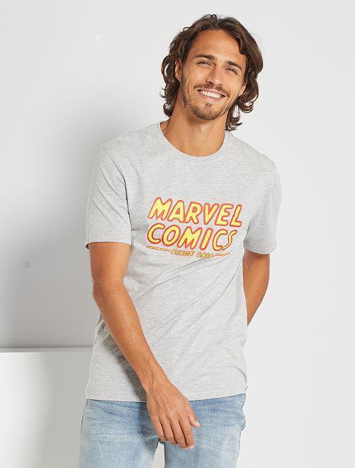 Camiseta 'Marvel'                             GRIS