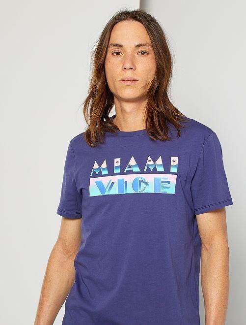 Camiseta 'Miami Vice'                                                     violeta
