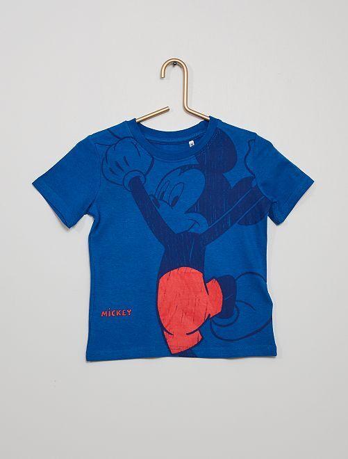 Camiseta 'Mickey'                             azul