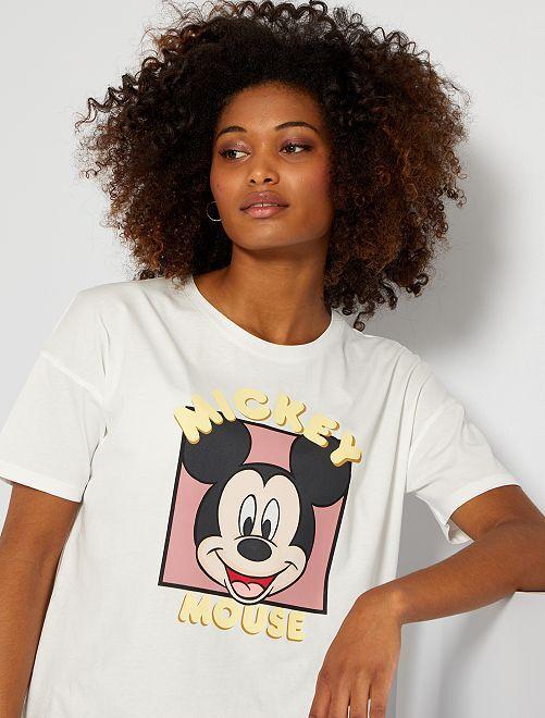 Camiseta 'Mickey'                                                                             BLANCO