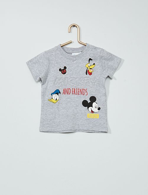 Camiseta 'Mickey' de 'Disney'                             gris chiné