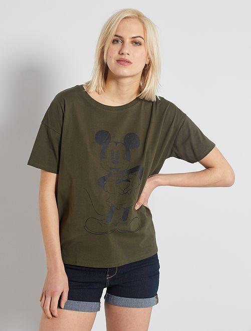 Camiseta 'Mickey'                                                                 KAKI