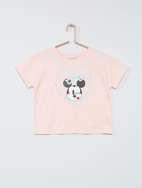 Camiseta 'Mickey'                                                                 ROSA