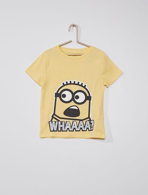 Camiseta 'Minions'                                                                 AMARILLO