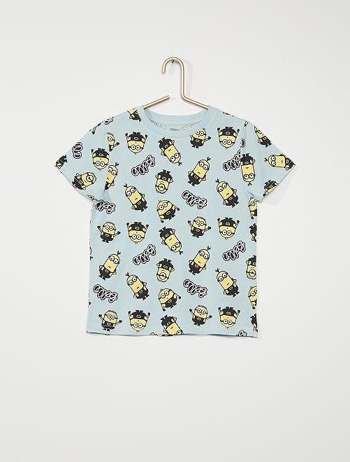 Camiseta 'Minions'                                                                 AZUL