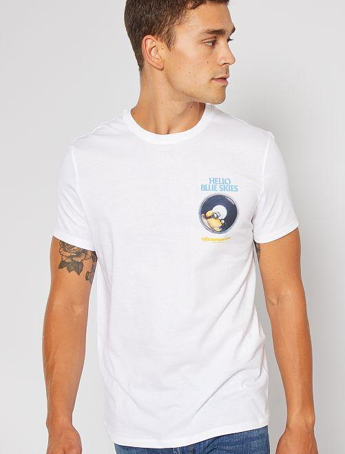 Camiseta 'Minions'                                         BLANCO
