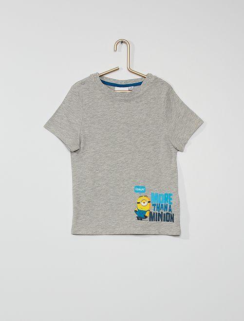 Camiseta 'Minions'                             GRIS