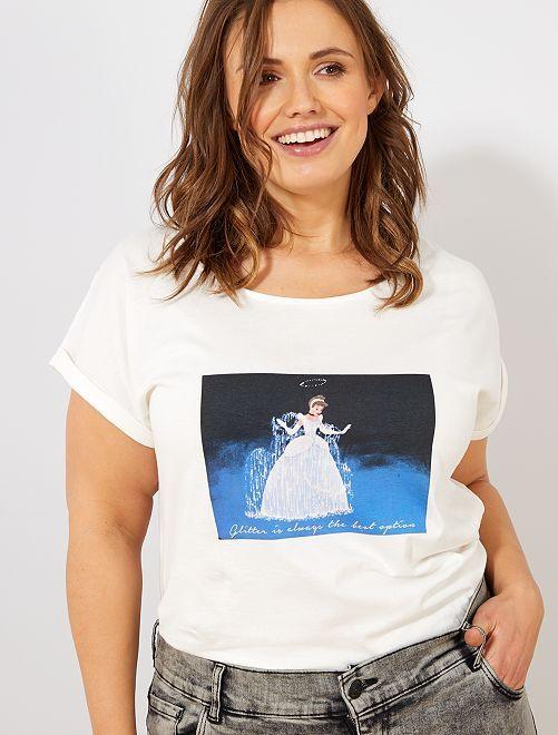 Camiseta 'Minnie'                                                                                                                             BLANCO Cenicienta