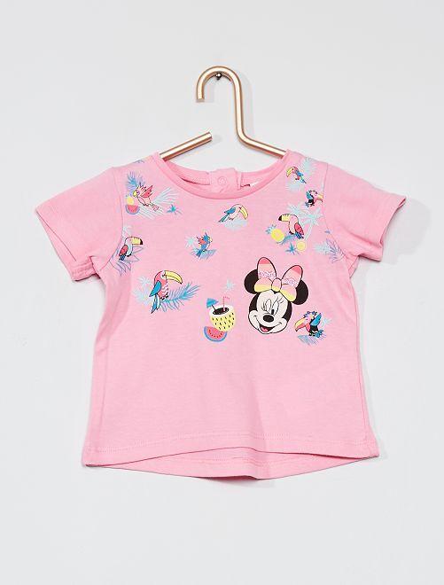 Camiseta 'Minnie' de 'Disney'                                         rosa