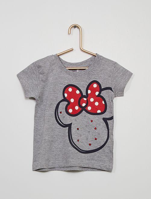 Camiseta 'Minnie'                             gris chiné