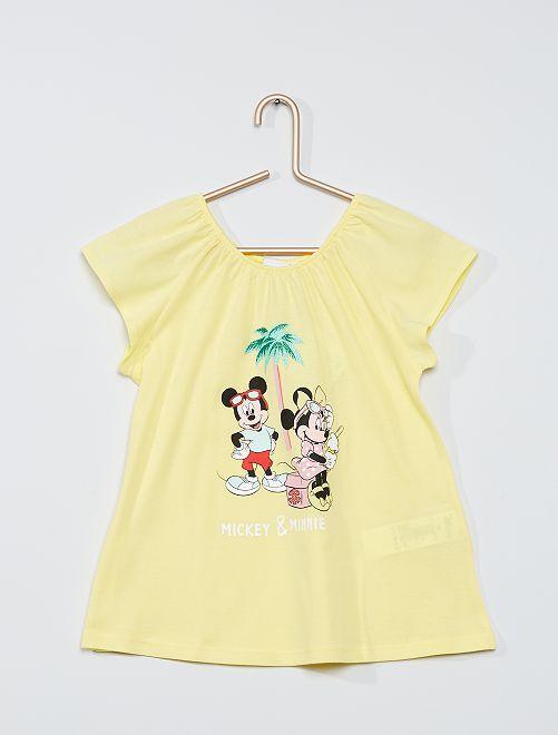 Camiseta 'Minnie Mouse'                                                     AMARILLO