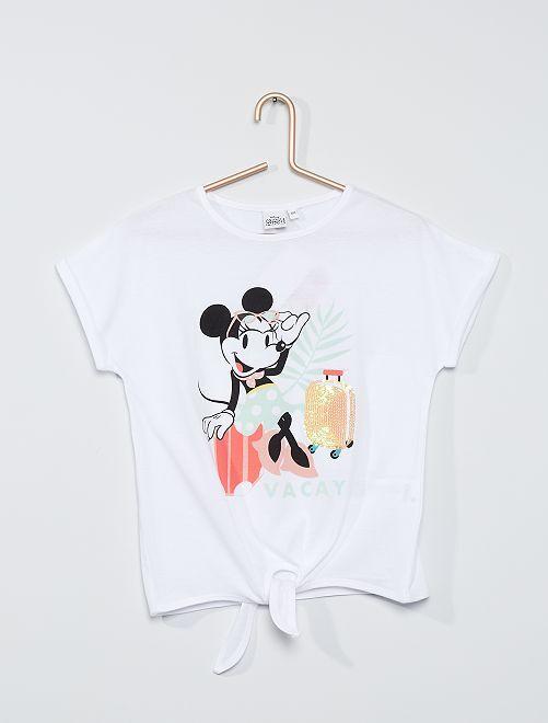 Camiseta 'Minnie Mouse'                     BLANCO