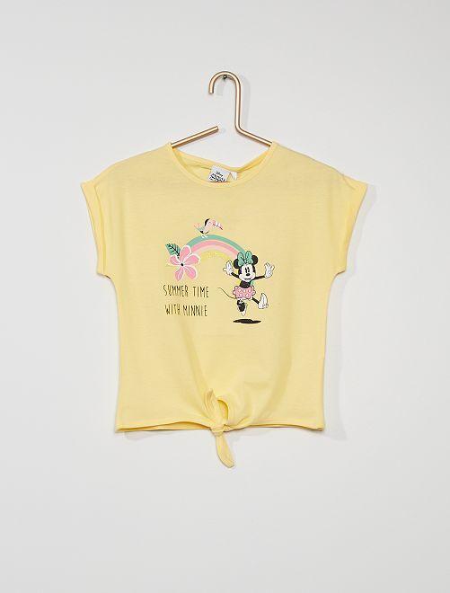 Camiseta 'Minnie Mouse' de 'Disney'                                                     AMARILLO