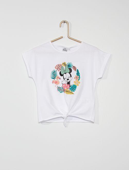 Camiseta 'Minnie Mouse' de 'Disney'                                                     BLANCO
