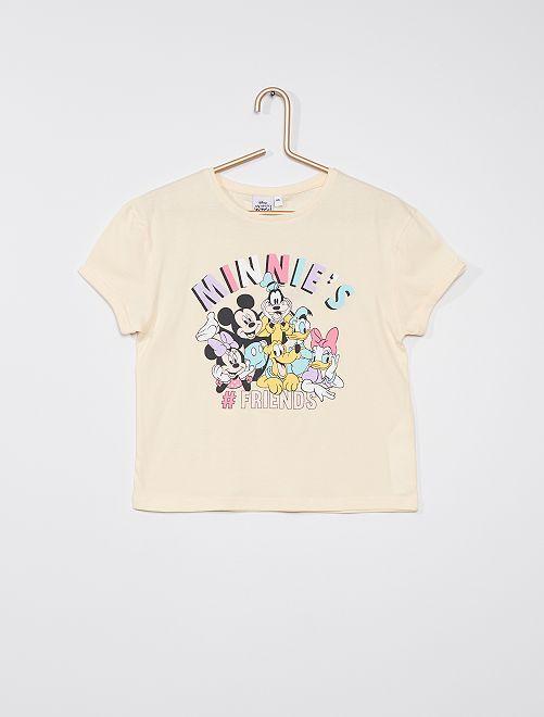 Camiseta 'Minnie y sus amigos'                             BLANCO