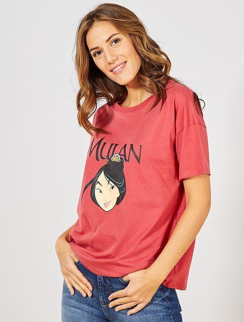 Camiseta 'Mulan'                                                                                         ROSA