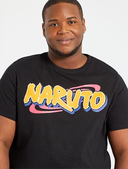Camiseta 'Naruto'                             negro