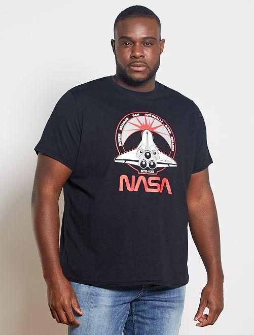 Camiseta 'NASA'                             negro