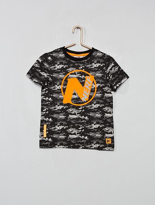 Camiseta 'Nerf'                                                     NEGRO